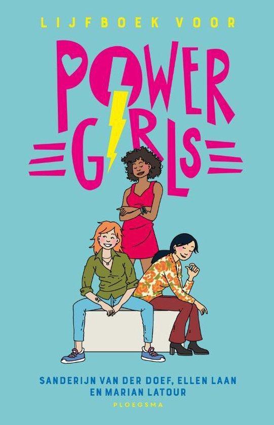 Boek cover Lijfboek voor powergirls van Sanderijn van der Doef (Paperback)