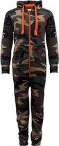 Camouflage Onesie Kind maat 140 – onesie kinderen – onesie jongens - onesie meisjes – Huispak