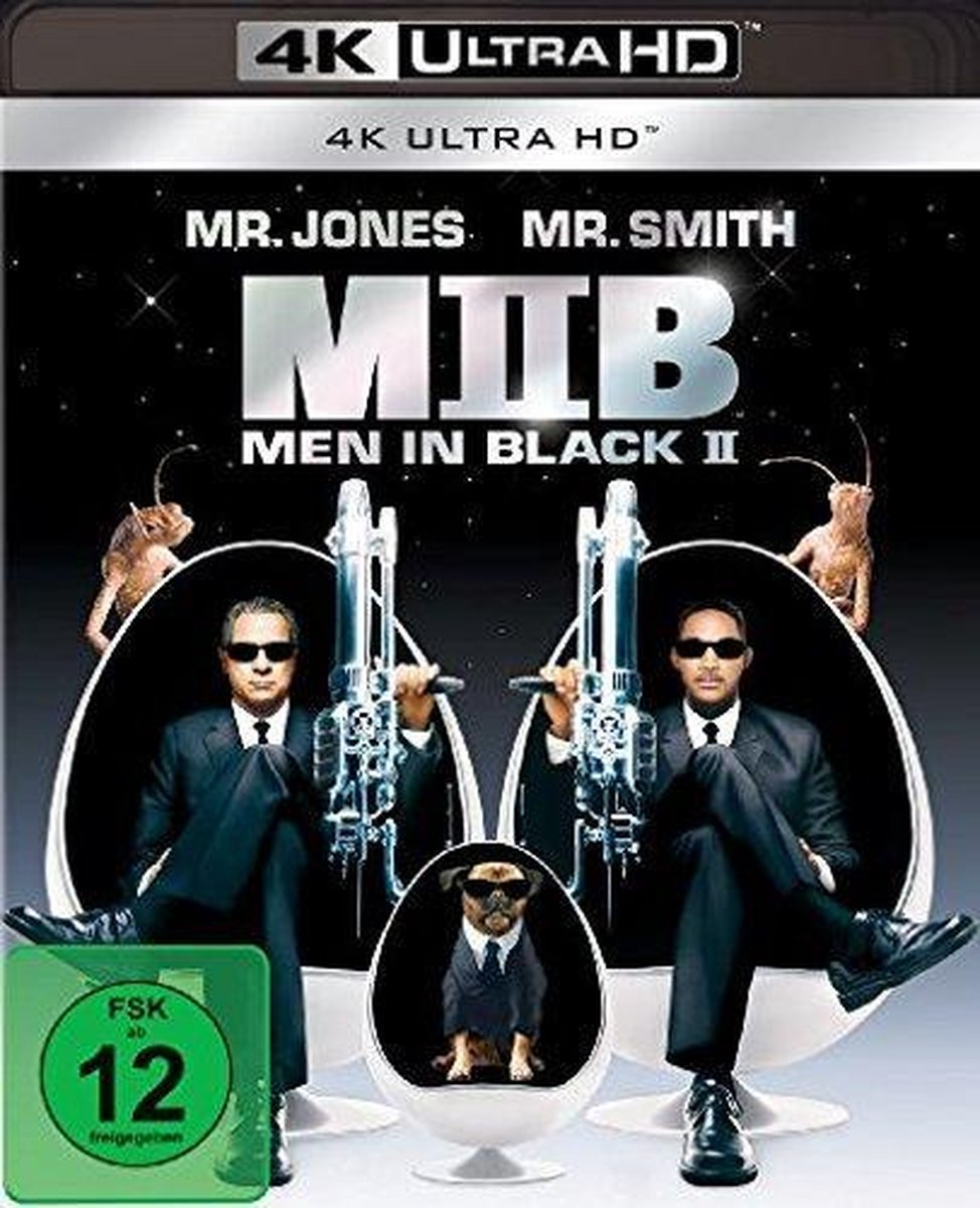 Men in Black 2 (Ultra HD Blu-ray)-