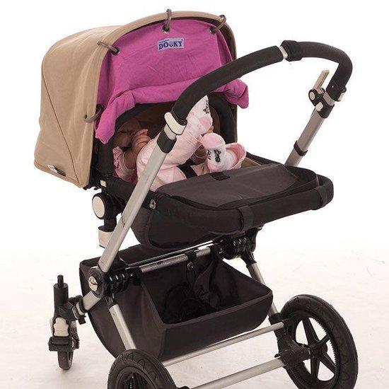 Dooky Universal Cover Zonnescherm Kinderwagen - Roze