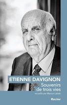 Etienne Davignon. Souvenirs de trois vies