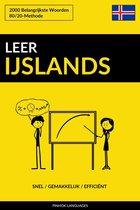 Leer IJslands: Snel / Gemakkelijk / Efficiënt: 2000 Belangrijkste Woorden