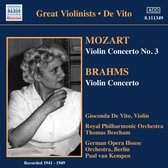 De Vito: Mozart/Brahms