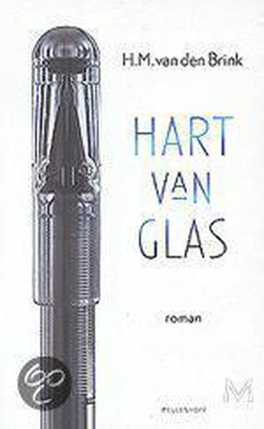 Cover van het boek 'Hart van glas' van H.M. van den Brink