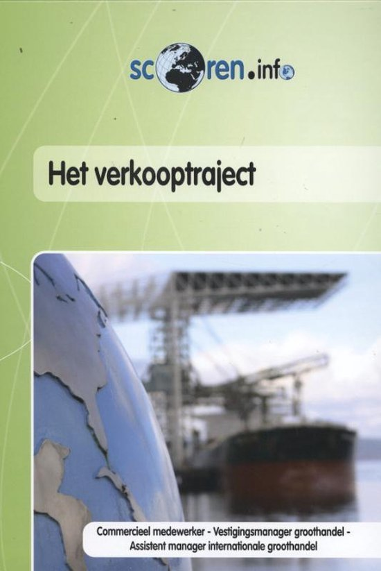 Het verkooptraject - G. de Jongh pdf epub