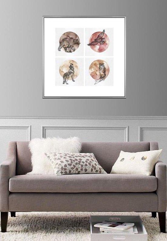 Homedecoration Montreal – Fotolijst – Fotomaat – 37 x 69 cm – Zilver