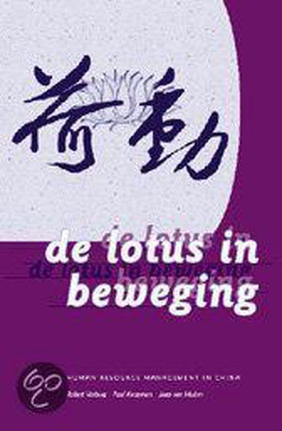 Cover van het boek 'De lotus in beweging' van Robert Verburg
