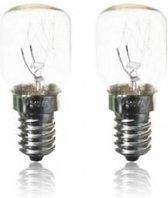 Koelkastlamp 15W E14  blister 2 stuks