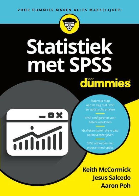 Statistiek met SPSS voor Dummies - Keith Mccormick |