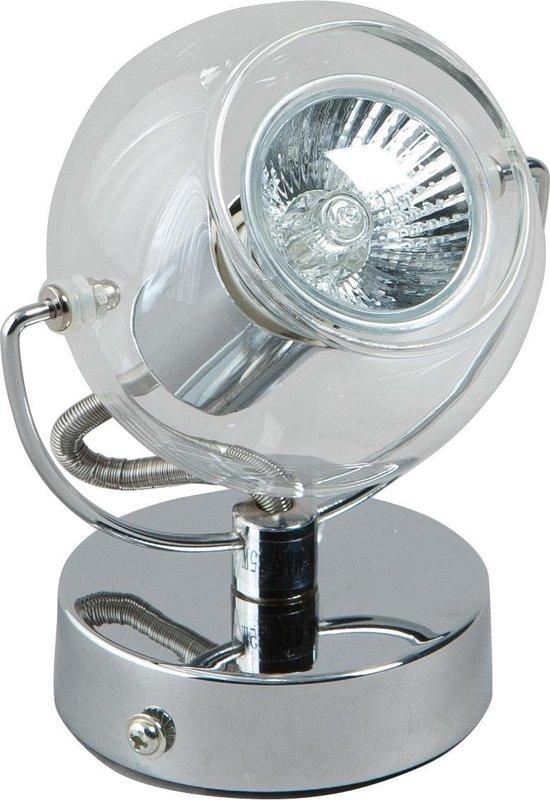 Plafondspot Vetro ETH Chroom 1 Lichtpunt