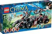LEGO Chima Worriz' Strijdperk - 70009
