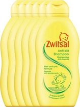 Zwitsal Anti-klit Shampoo - 6 x 200 ml - Voordeelverpakking