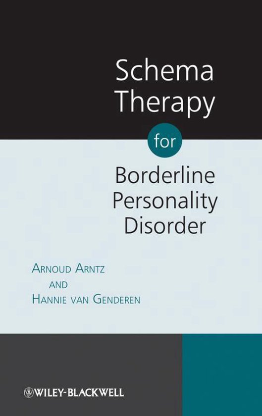 Boek cover Schema Therapy for Borderline Personality Disorder van Arnoud Arntz (Paperback)