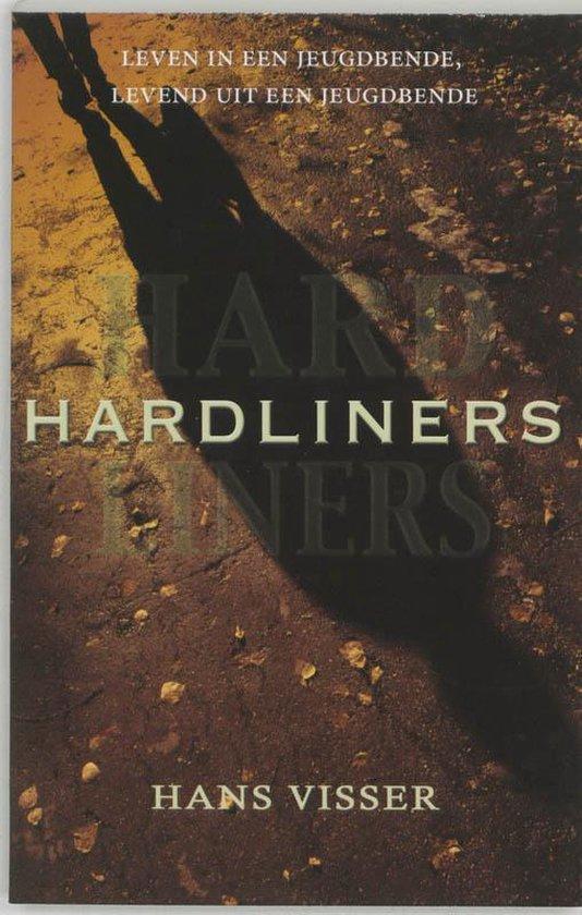 Cover van het boek 'Hardliners' van H Visser