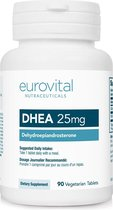EuroVital - DHEA (25 mg) 90 vegetarische tabletten