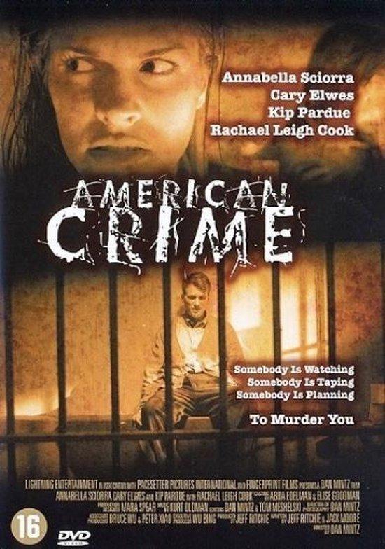 Cover van de film 'American Crime'