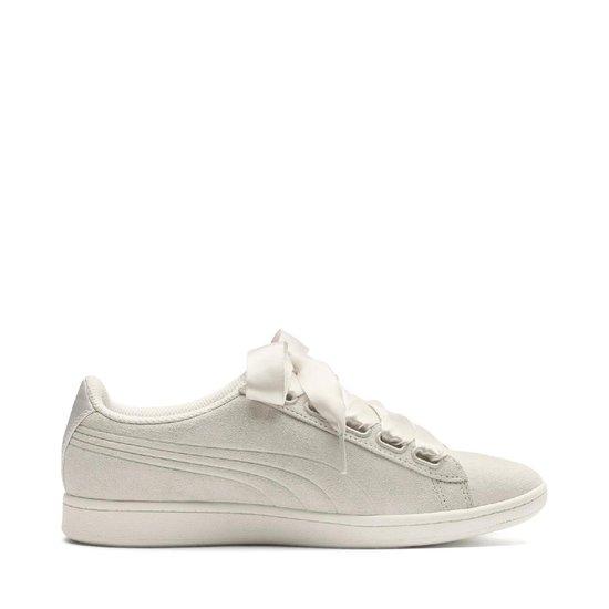PUMA Vikky Ribbon S Sneakers Dames - Whisper White-Whisper White - PUMA