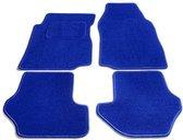 Bavepa Complete Premium Velours Automatten Lichtblauw Volkswagen Caddy 2007- (alleen voor)