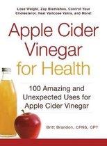 Apple Cider Vinegar For Health