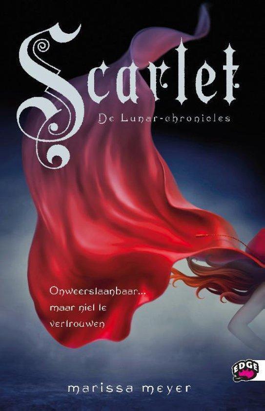 Cover van het boek 'De Lunar chronicles / Scarlet' van Marissa Meyer