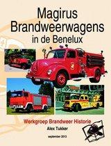 Prentenboek Magirus brandweerwagens