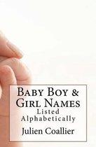 Baby Boy & Girl Names