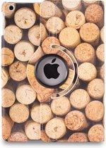 Apple iPad Hoes - 360° Draaibaar - Voor de iPad Air 2 - 'Kurk' - Uniek Design