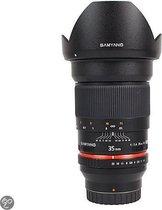 Samyang 35mm T1.5 VDSLR ED AS UMC - Prime lens - geschikt voor Sony A