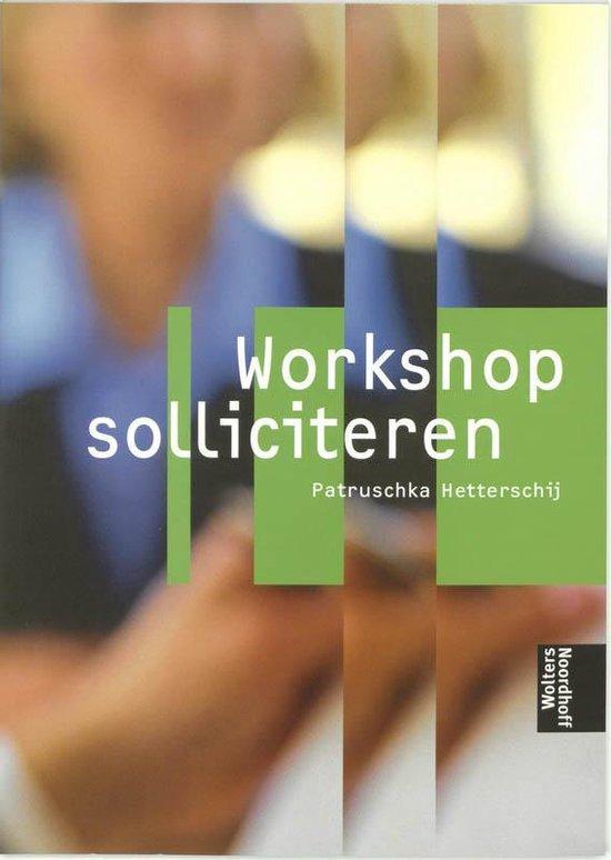 Workshop Solliciteren - P. Hetterschij | Fthsonline.com