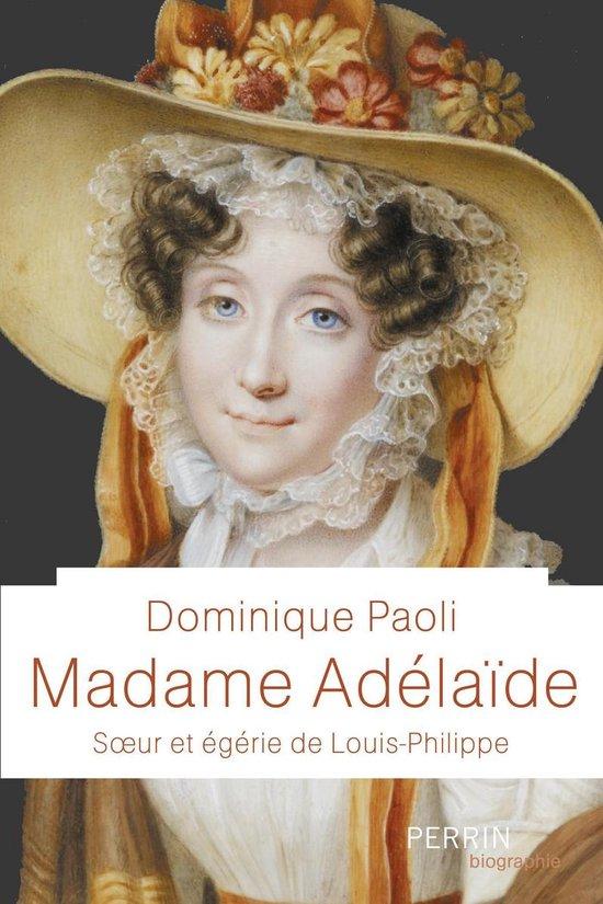 Boek cover Madame Adélaïde van Dominique Paoli (Onbekend)