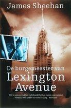 Boek cover De Burgemeester Van Lexington Avenue van J. Sheehan