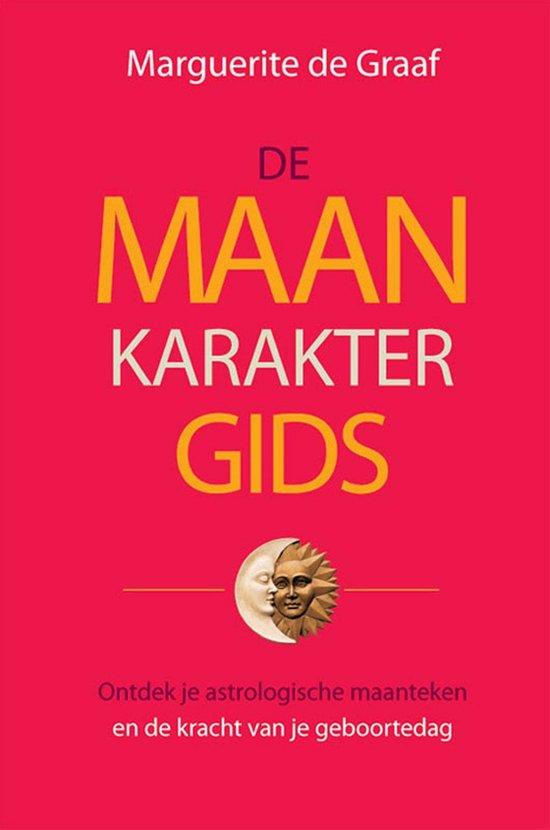Cover van het boek 'De maankaraktergids' van Marguerite de Graaf