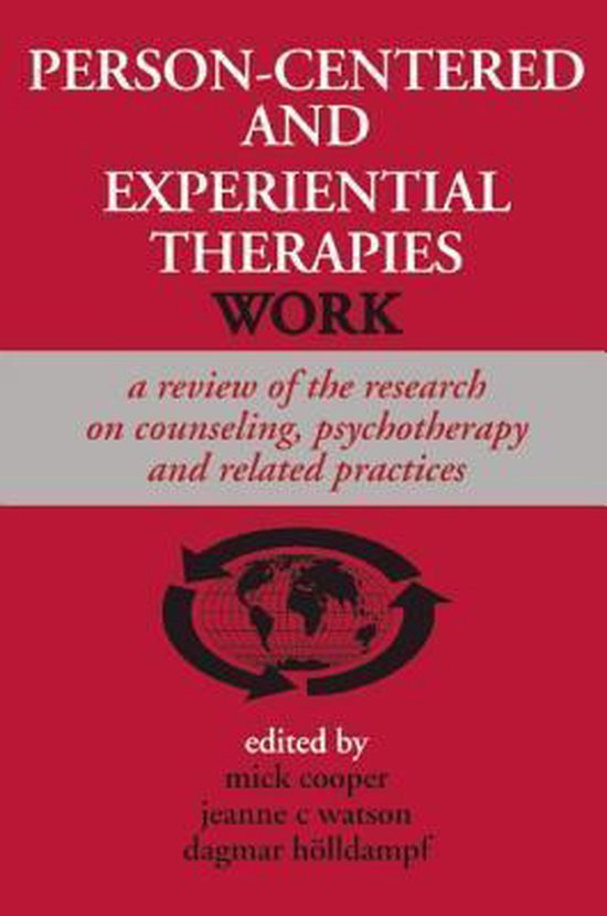 Boek cover Person-centered and Experiential Therapies Work van Mick Cooper (Paperback)