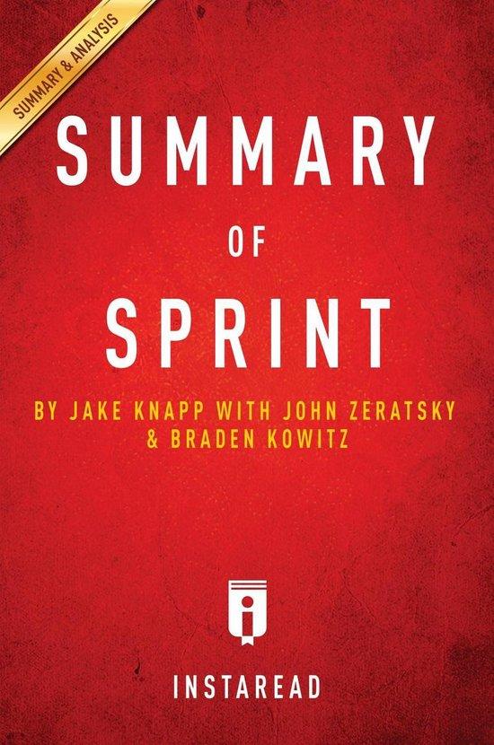 Boek cover Summary of Sprint van Instaread Summaries (Onbekend)