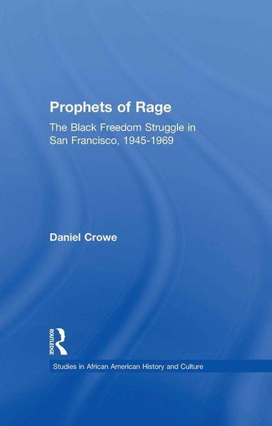 Boek cover Prophets of Rage van Daniel E. Crowe (Onbekend)