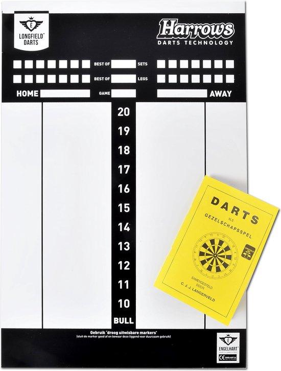 Afbeelding van het spel SCORE BOARD WITH RULES OF THE GAME FOR DARTS