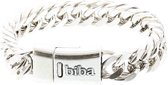 Biba metalen armband met grove schakel 21,5 cm|blingdings