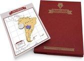 Luckies Travelogue Rood - Reisdagboek - Krasbare Kaarten