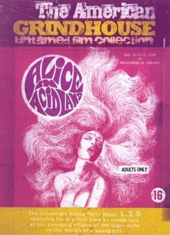 Cover van de film 'Alice In Acidland'