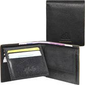DR Amsterdam Icon Heren Billfold Zwart