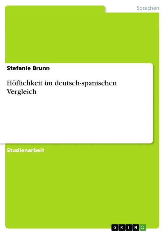 Höflichkeit im deutsch-spanischen Vergleich