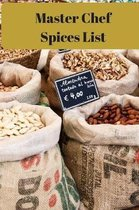 Master Chef Spices List