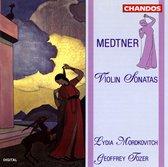 Medtner: Violin Sonatas / Lydia Mordkovitch, Geoffrey Tozer