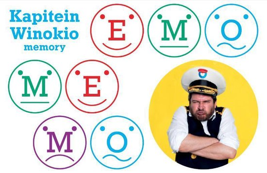 Emo Memo - Kapitein Winokio pdf epub