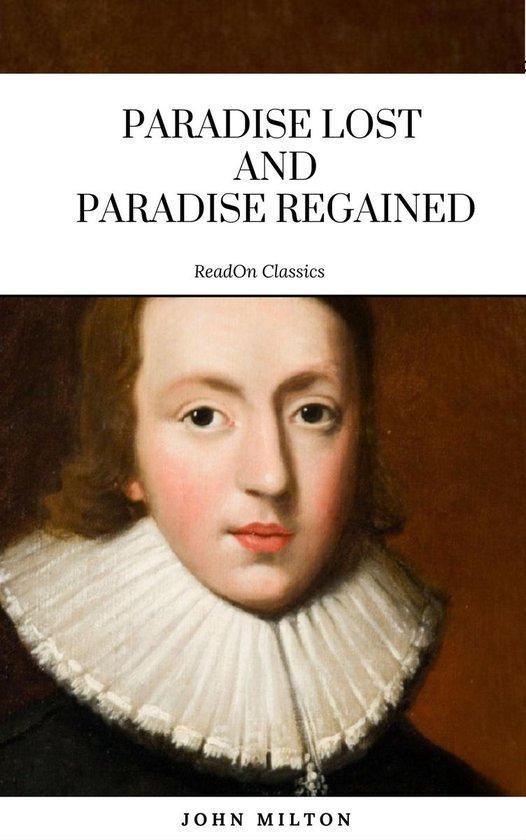 Boek cover Paradise Lost and Paradise Regained van John Milton (Onbekend)
