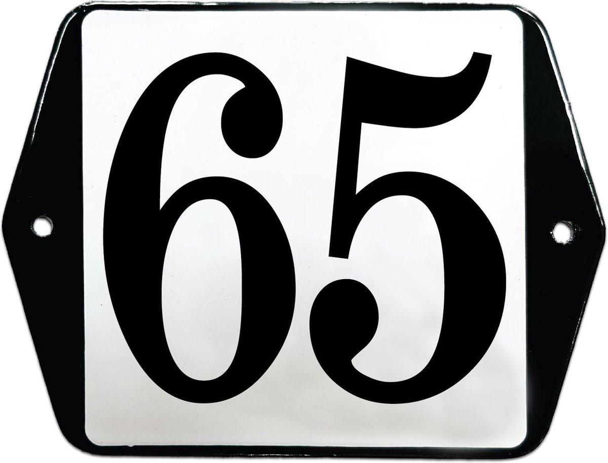 Emaille huisummer model oor - 65