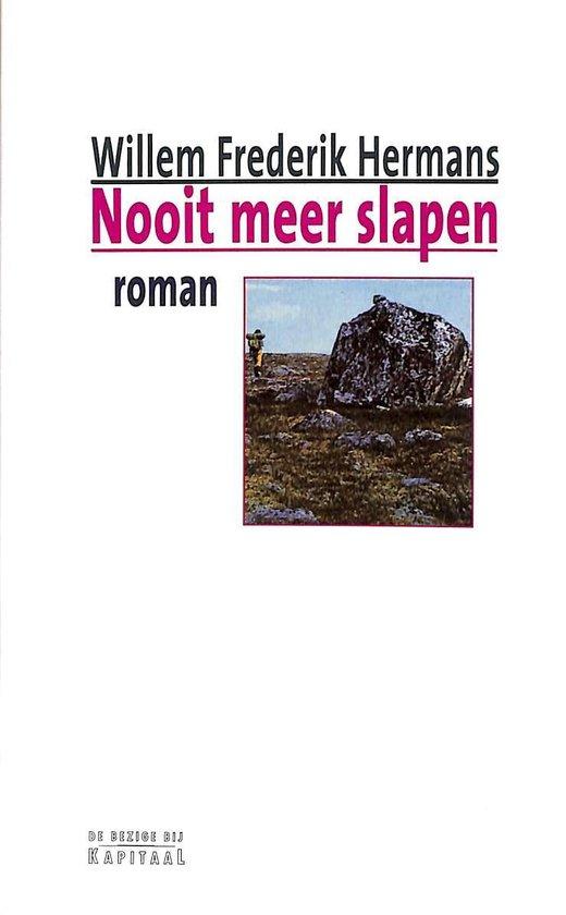 Boek cover Nooit Meer Slapen van Willem Frederik Hermans