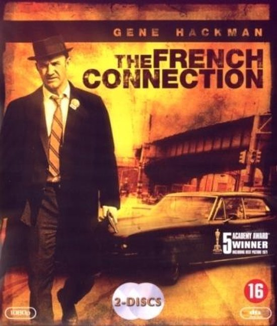 Cover van de film 'French Connection'