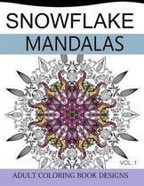 Snowflake Mandalas Volume 1