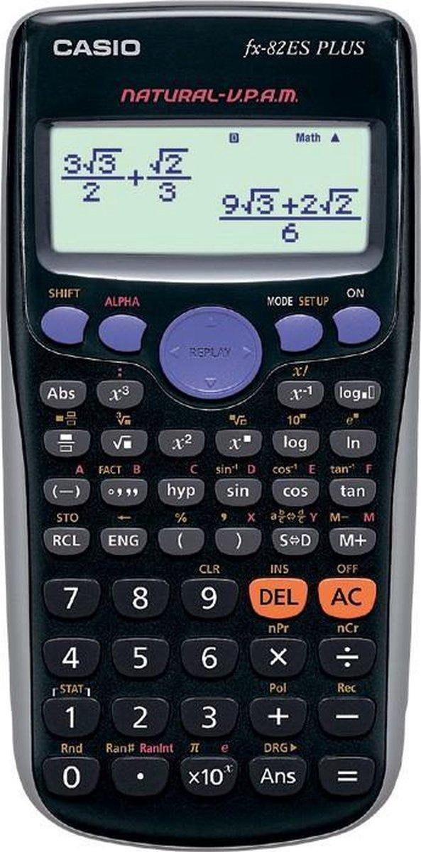 Casio FX-82ES PLUS wetenschappelijke rekenmachine